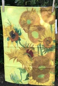 Sunflowers: 2019. To read the story www.myteatowels.wordpress.com/2019/07/14/sun