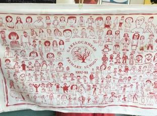 Garelochead Primary School. On 'loan'.