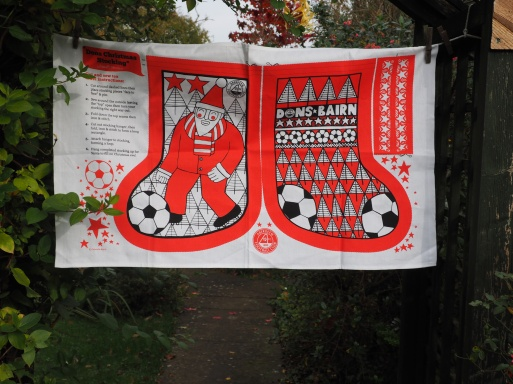 The Dons Christmas Stocking: 2017. To read the story www.myteatowels.wordpress.com/2017/11/02/don