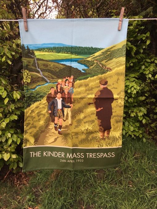 The Kinder Mass Trespass: 2020. To read the story www.myteatowels.wordpress.com/2020/05/09/kin