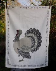 Turkey Lurkey: 2017. To read the story www.myteatowels.wordpress.com/2018/12/05/tur