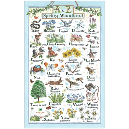 A-Z of Spring Woodland: On 'loan' from the Woodland Trust