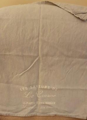 Le Saveur de le Cuisine: On 'loan' from Auriol. You can read Auriol's Guest Tea Towel 2020