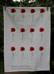 Papaver Rhoeas: 2017. To read the story www.myteatowels.wordpress.com/2017/11/14/pap