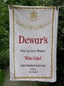 Dewar's: 1984. To read the story www.myteatowels.wordpress.com/2017/04/14/dew