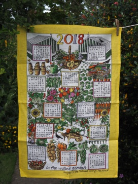 2018 Calendar: To read the story www.myteatowels.wordpress.com/2018/12/31/2018