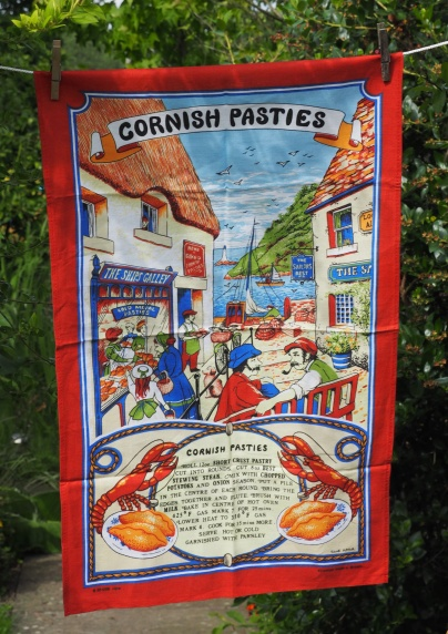 Cornish Pasties: 2017. To read the story www.myteatowels.wordpress.com/2017/07/05/cor