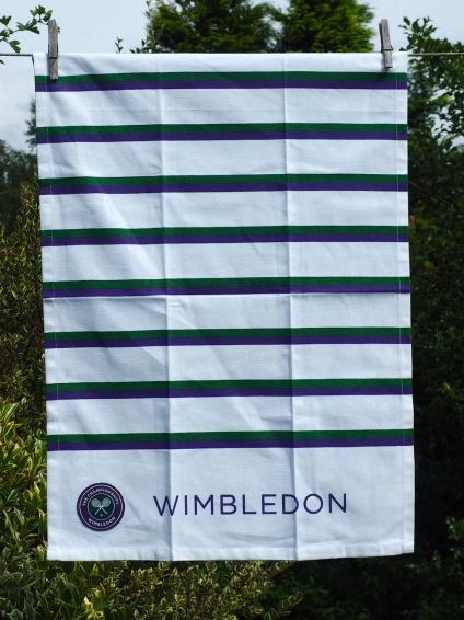Wimbledon Championship: 2017. To read the story www.myteatowels.wordpress.com/2017/07/03/wim
