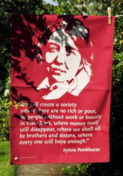 Sylvia Pankhurst (and the Fidget Spinner) 2017; To read the story www.myteatowels.wordpress.com/2017/08/05/syl