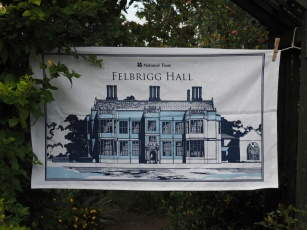 Felbrigg Hall: 2017. To read the story www.myteatowels.wordpress.com/2017/08/13/fel