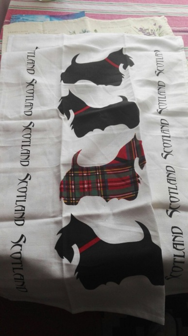 Scottie Dogs. On 'loan' from Andrew