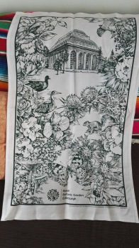 Royal Botanical Gardens of Edinburgh. On 'loan' from Andrew