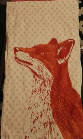 Red Fox. On 'loan' from Andrew