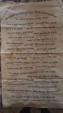 Scottish Language: On 'loan' courtesy of Andrew