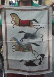 Florentine Horses. On 'loan' from Andrew
