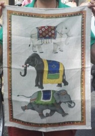 Florentine Elephants. On 'loan' from Andrew
