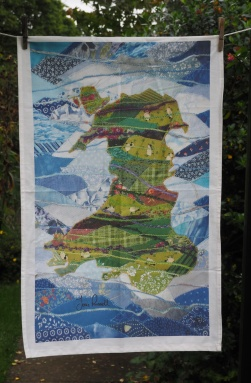 Patchwork of Wales: 2017. To read the story www.myteatowels.wordpress.com/2018/06/04/pat