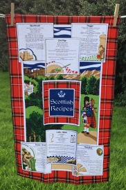 Scottish Recipes: 2017. To read the story www.myteatowels.wordpress.com/2017/08/32/sco