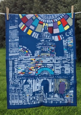 Edinburgh University: 2017. To read the story www.myteatowels.wordpress.com/2019/01/22/edi
