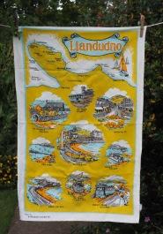 Llandudno: Vintage, acquired 2017. To read the story www.myteatowels.wordpress.com/2018/01/19/lla