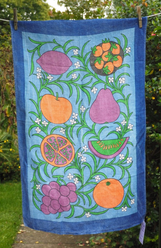 Fruits: Vintage, acquired 2017. To read the story www.myteatowels.wordpress.com/2017/11/06/fru