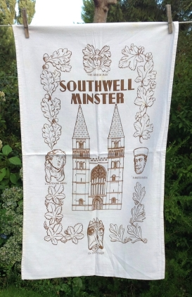 Southwell Minster: 2001. To read the story www.myteatowels.wordpress.com/2015/06/07/sou