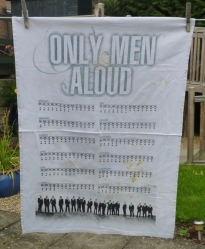 Only Men Aloud: 2009. To read the story www.myteatowels.wordpress.com/2017/03/03/onl