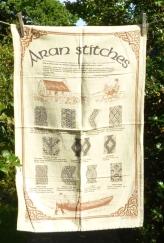 Aran Stitches: 1986. To read the story www.myteatowels.wordpress.com/2018/09/22/area