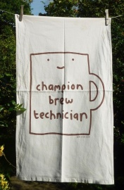 Champion Brew Technician: 2010. To read the story www.myteatowels.wordpress.com/2019/02/20/cha