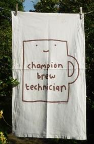 Champion Brew Technician: 2010. To read the story www.myteatowels.wordpress.com/2019/02/20/cha