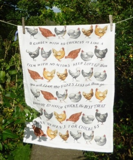 A Garden without Chickens: 2003 and 2010. To read the story www.myteatowels.wordpress.com/2017/04/27/breeds-of-chickens-2008/