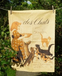 Des Chats: 1987. To read the story www.myteatowels.wordpress.com/2018/02/16/des