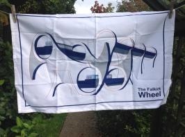 Falkirk Wheel: 2015. To read the story www.myteatowels.wordpress.com/2016/10/27/fal