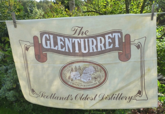 Glenturret Distillery: 1986. To read the story www.myteatowels.wordpress.com/2016/07/12/gle