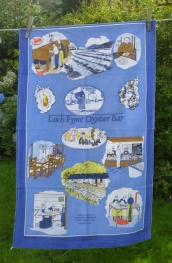 Loch Fyne Oyster Bar: 2000. To read the story www.myteatowels.wordpress.com/2015/05/18/cai