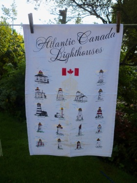 Canadian Lighthouses: 2009. To read the story www.myteatowels.wordpress.com/2019/03/03/nov