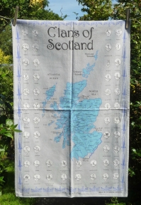 Clans of Scotland: 2009. To read the story www.myteatowels.wordpress.com/2017/06/26/cla