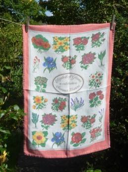 Elizabeth of Glamis a Celebration of Summer Flowers: 1985. To read the story www.myteatowels.wordpress.com/2019/11/22/eli