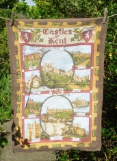Castles of Kent: 2012. To read the story www.myteatowels.wordpress.com/2019/04/17/cas