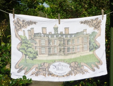 Sudbury Hall: 1988. To read the story www.myteatowels.wordpress.com/2019/04/25/sud