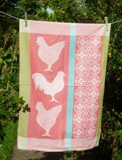 3 Chickens: 2009 (or the Third Day of Christmas). To read the story www.myteatowels.wordpress.com/2017/12/27.three
