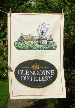 Glengoyne Distillery: 1984. To read the story www.myteatowels.wordpress.com/2017/02/15/gle