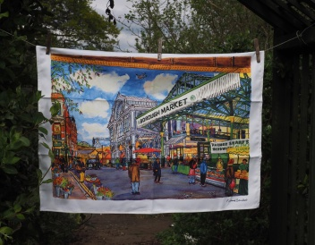 Borough Market: 2017. To read the story www.myteatowels.wordpress.com/2017/07/11/bor