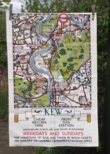 Kew Gardens: 2017 (going back to 1968). To read the story www.myteatowels.wordpress.com/2017/05/18/kew