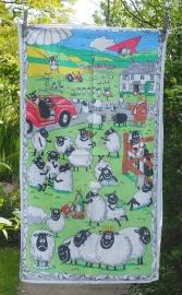 Shaun the Sheep: 2013. To read the story www.myteatowels.wordpress.com/2017/07/31/sha