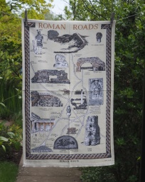 Roman Roads: 1993. To read the story www.myteatowels.wordpress.com/2017/10/03/rom