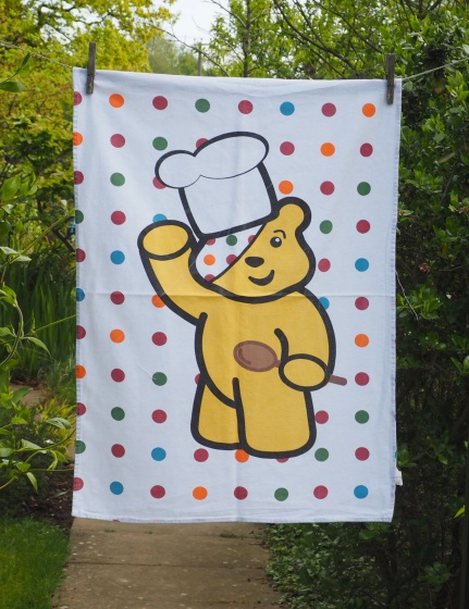 Pudsey: 2008. To read the story www.myteatowels.wordpress.com/2017/05/06/pud