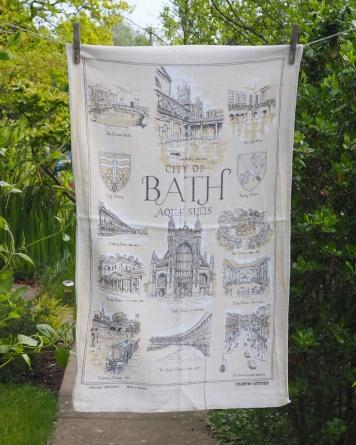 Bath: 1987 onwards. To read the story www.myteatowels.wordpress.com/2019/02/11/bat