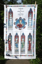 St Albans Cathedral: 2005. To read story www.myteatowels.wordpress.com/2015/07/12/st-albans-cathedral-2005/