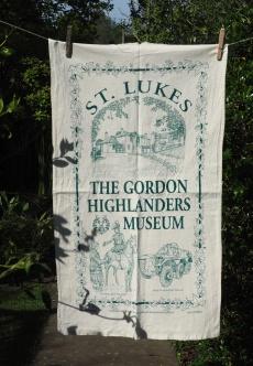 Gordon Highlanders: 2015. To read the story www.myteatowels.wordpress.com/2015/08/04/gor